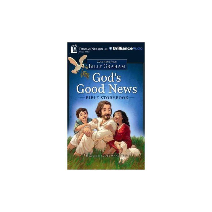God's Good News Bible Storybook (Unabridged) (Compact Disc)