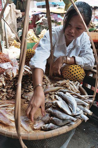Vietnam fish seller