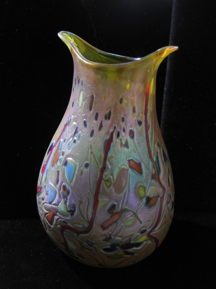 88 Best Beautiful Vases Images On Pinterest Glass Vase Glass Art And Vases