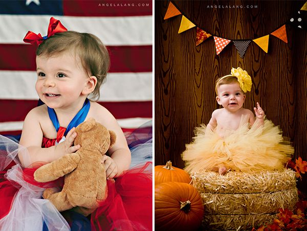 Cutest fall baby photo! Love the setup! anglea-lang-photography-minisessions3