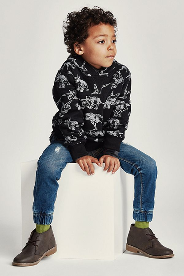 Fun patterns, trendy jeans and cozy sweatshirts are on the radar for back to school.