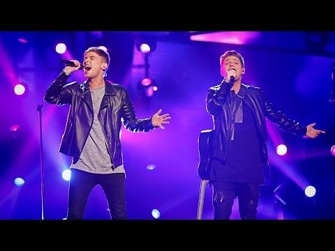UK's Joe & Jake perform 'You're Not Alone ' - Eurovision Song Contest 2016 Grand Final - BBC One - YouTube