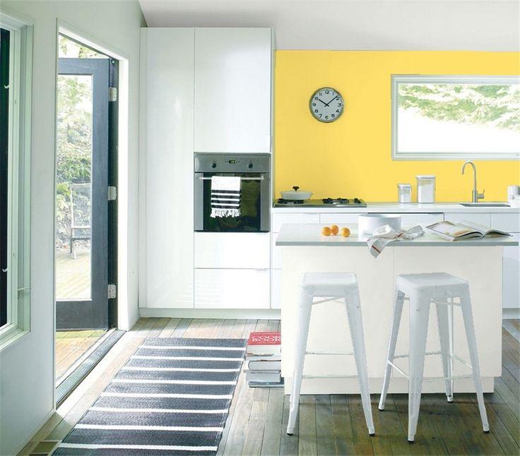 Cheerful Summer Interiors 50 Green And Yellow Kitchen: Best 20+ Benjamin Moore Yellow Ideas On Pinterest—no