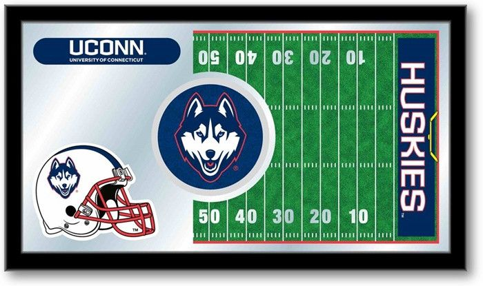 UConn Huskies Football Team Sports Mirror - SportsFansPlus