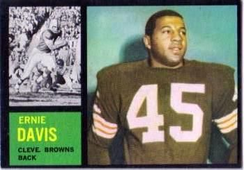 36 - Ernie Davis RC, SP - Cleveland Browns