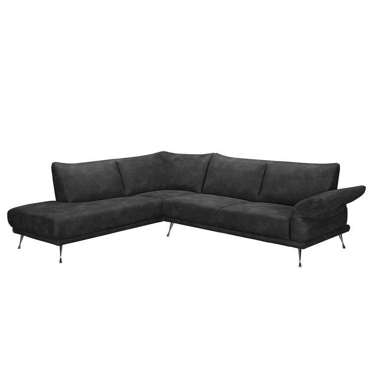Ecksofa anthrazit  Die besten 25+ Microfaser couch Ideen auf Pinterest | Wohnzimmer ...