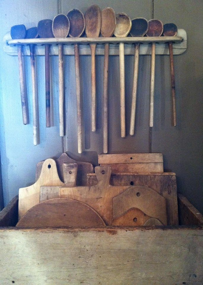 Old Wooden ware - Hopping Crow Antiques