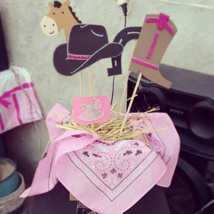 cowgirl baby showers baby shower centerpieces baby shower shower ideas