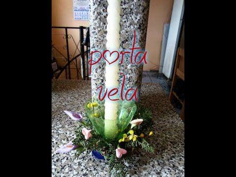 Candelabro de Botella PET - YouTube
