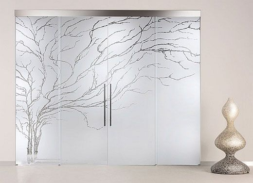 This Is Beautiful Printed Interior Door Design A Glass Door Can Make Miracles To A Simple Home Design Of Interior Doors Design