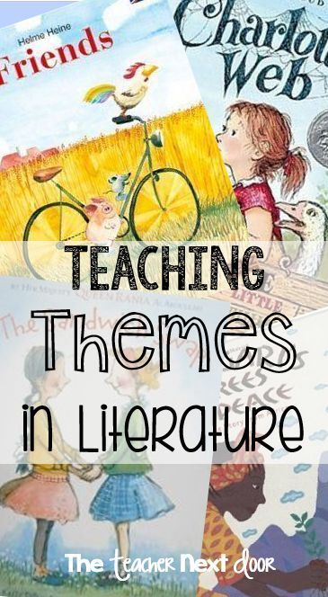 Determining theme in a piece of literature is a challenging but important reading strategy. Learn lots of ideas to help you incorporate theme lessons in your classroom in this blog post.
