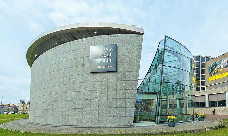 Van Gogh Museum Amsterdam Netherlands Travel Tourist Tourist Attraction