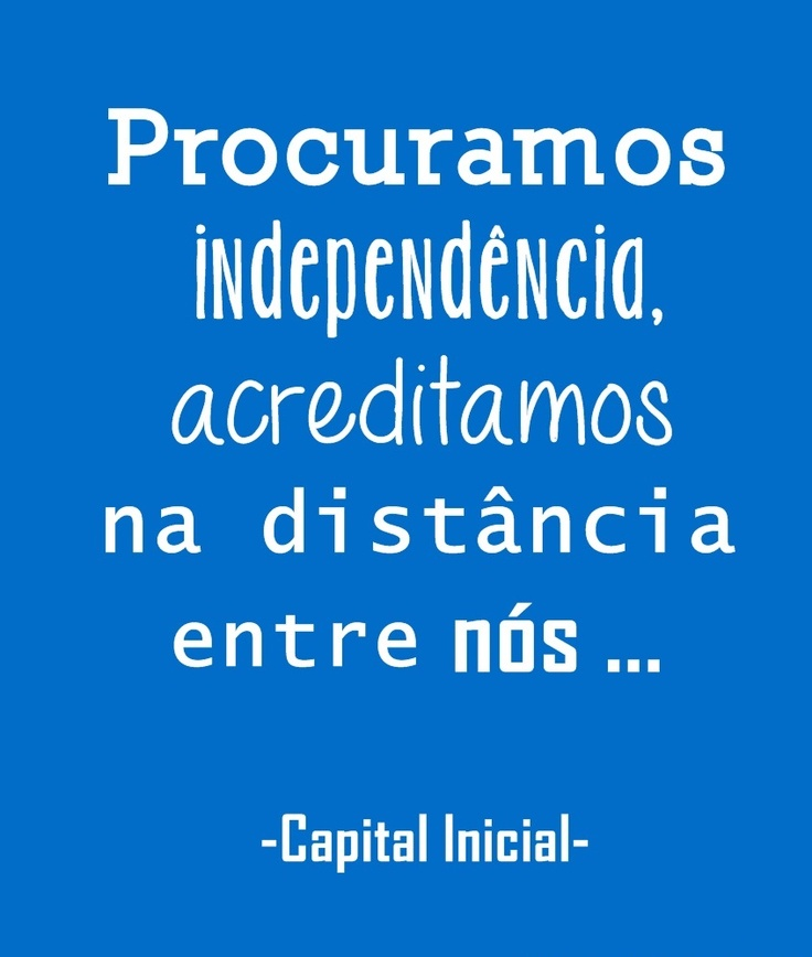 Capital Inicial - independencia