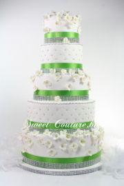 Gateau mariage Chantal Marting diamond diamant wedding cake