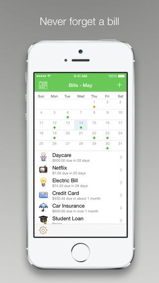 Chronicle - Bill Management & Reminders littleFin LLC 제작 가계부
