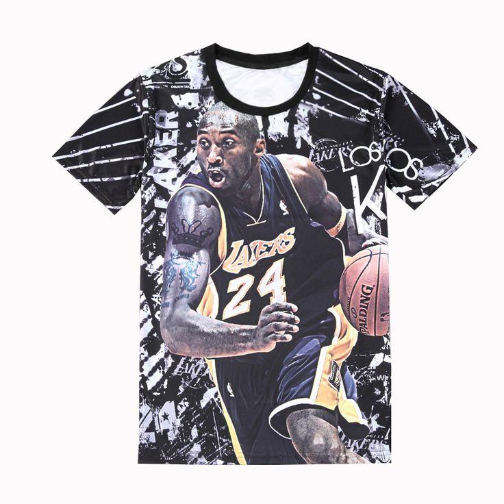 Teen Boy Tops T Shirt 2017 New All Star Boys Camisetas 3D T Shirt Print Short Sleeve Harden Westbrook Curry Kobe Children