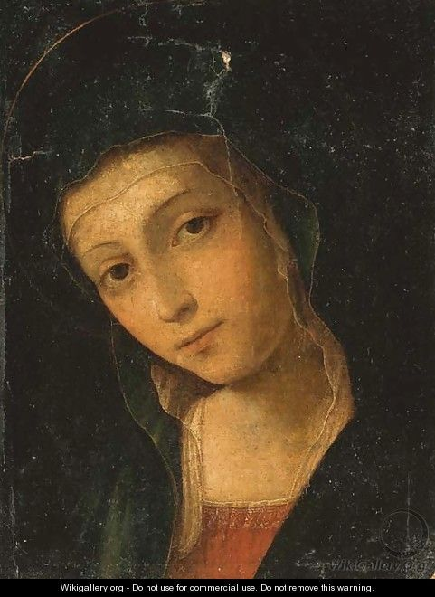The Madonna - Bernardino di Betto (Pinturicchio)