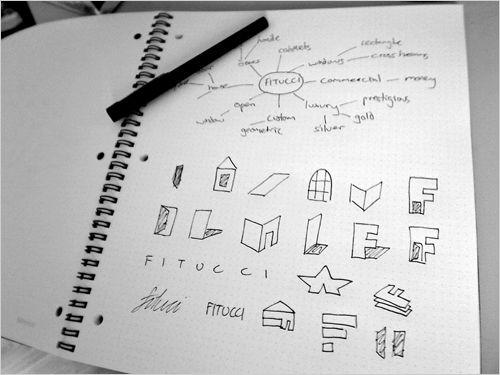 Fitucci logo design For the full design process visit: http://justcreative.com/2008/11/27/logo-design-process-fitucci/