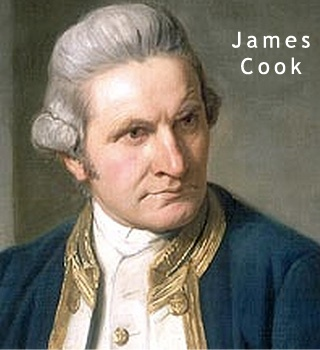 (1778) Captain James Cook of Great Britain reached Nootka Counda, first white man to set foot in B.C.