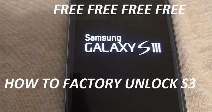 how to factory unlock samsung galaxy s3 FREE in couple min easy and fast...