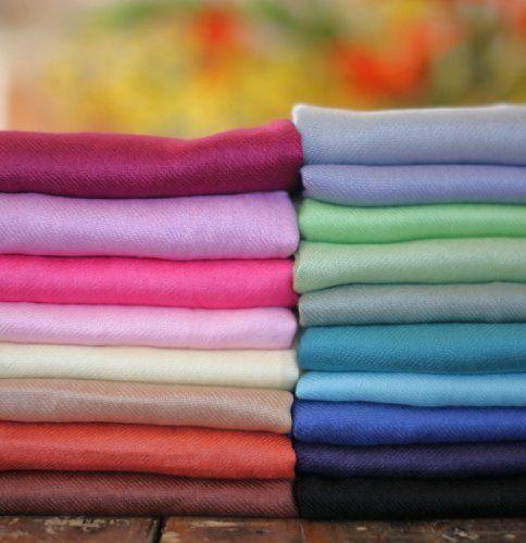 Anika Dali Premium Solid Color Pashmina Scarf / Shawl / Wrap (many colors) - http://cheune.com/a/26459765667095781