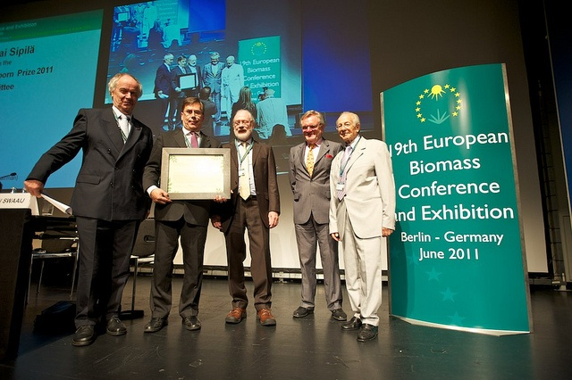 Linneborn Prize 2011 - 19th European Biomass Conference and Exhibition #biomass #biofuels #bioenergy #pellets