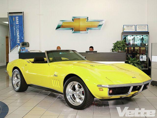 1969 Corvette 427 Roadster