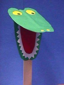 Crocodile Crafts Idea for Preschool - Preschool CraftsPreschool Crafts | Mobile Version