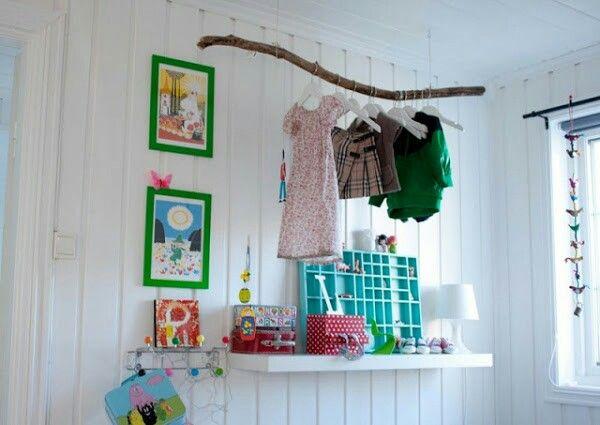 Ideas para colgar ropa