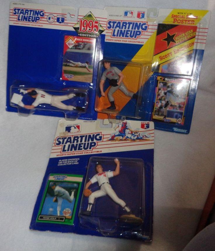 Starting Lineup lot of  (3) Minnesota Twins Baseball  #Kenner