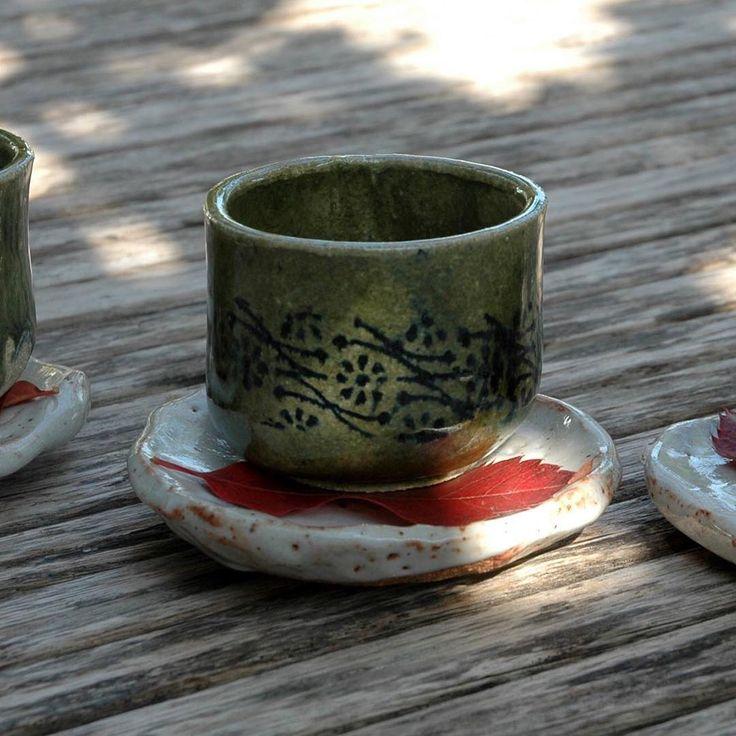 Que passeu un GRAN fin de setmana #ceramic #cerámica #esmalte #oribe #yunomi