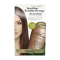 Organix Brazilian Keratin Therapy 30-day smoothing treatment. Perfect for in between Brazilian Blowouts.