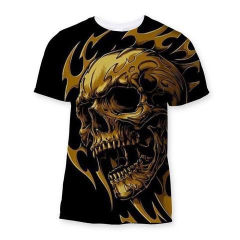Skull Sublimation T-Shirt