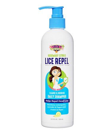 Love this Surf's Up Lice Repel 12-Oz. Rosemary & Citrus Daily Shampoo on #zulily! #zulilyfinds