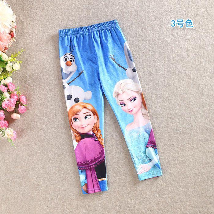 Calzas de algodón Frozen. Tallas: 4; 5; 6 años $7.990