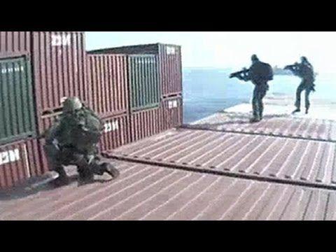 Dutch Marines Storm Hijacked Ship