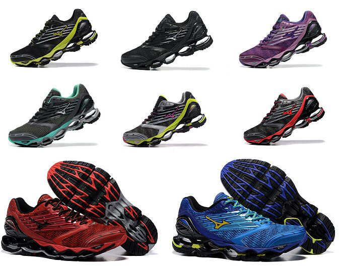 5 Style Mizuno Wave Prophecy 5 V Mens Running Shoes Trainers Sneakers Runner #Mizuno #AthleticSneakers
