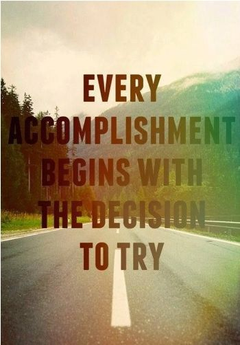 Set goals–– even if you don't reach every single one, they will give you the motivation to try, and trying in itself is an accomplishment. | FinanciallyFitFemales.com