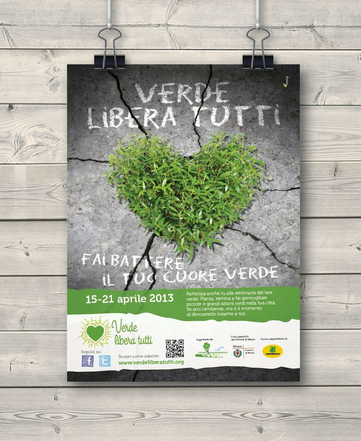 Creative Advertising / Poster / Verde Libera Tutti
