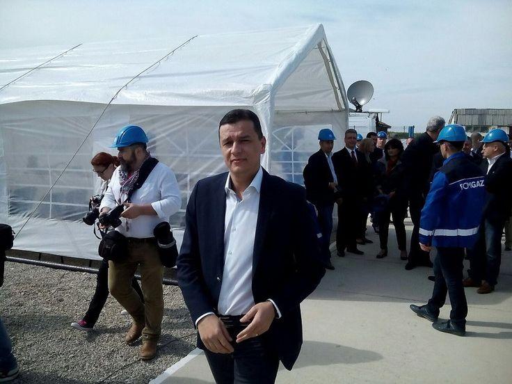 Cel mai mare zăcământ de gaze naturale de pe uscat, descoperit în România ultimilor 30 de ani, a fost inaugurat vineri în judeţul Buzău