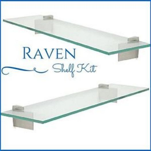 raven floating glass shelves. Top 25 ideas about Floating Glass Shelves on Pinterest   Ikea