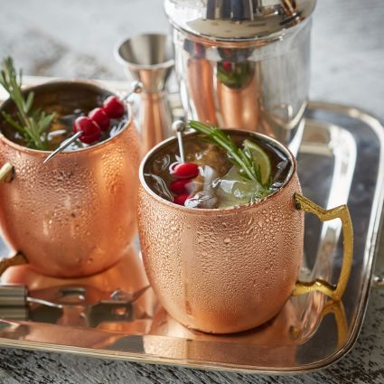 Moscow Mule Copper Mug, available at #surlatable #MoscowMule #coppermug