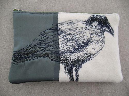 Australian Raven, tote bag, 2008