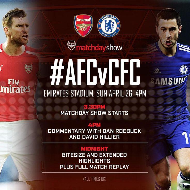 Our Matchday Show is now underway. Tune in for all the news, views and build-up to #AFCvCFC: http://arsn.al/voJtOe