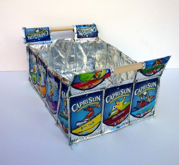 Durable and Functional Capri Sun Juice by LLDesignJuicePouches