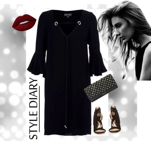 Style Head to Toe: Coco Boho Black Dress.
