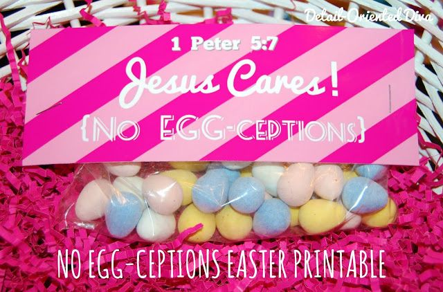 33 best easter images on pinterest easter gift easter party and so many cute christian easter gift idea i made the no bunny negle Images