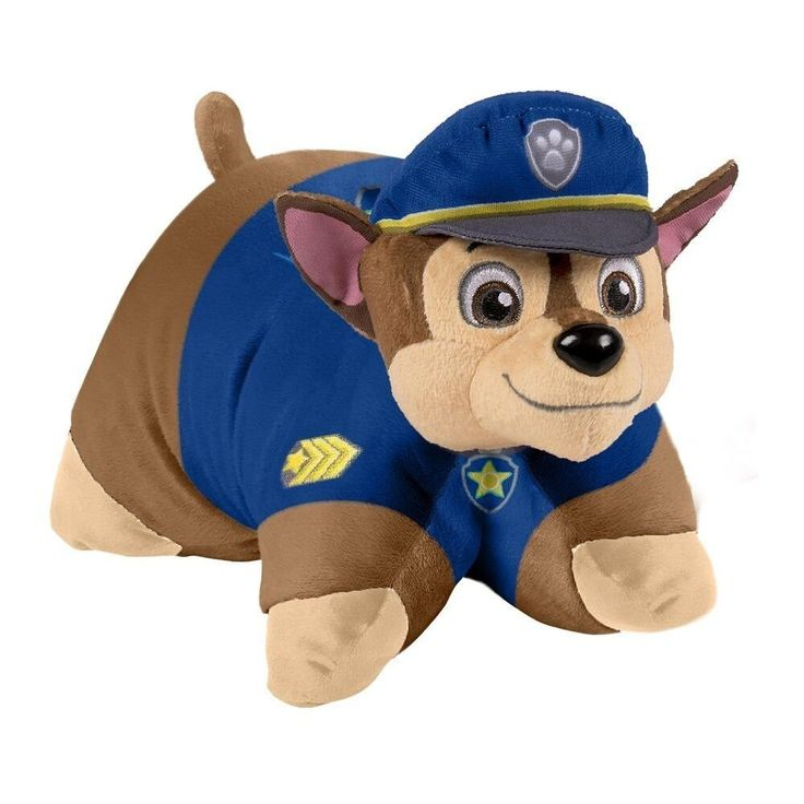 Pillow Pets has teamed up with Nickelodeon to create your favorite Paw Patrol characters as a plush Pillow Pet! This super-soft plush figure measures 16-inches and is perfect for playtime, sleep time,