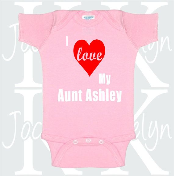 77 best aunt onesies images on pinterest babies clothes baby items similar to i love my aunt custom name body suit one piece bodysuit onepiece personalized baby gift from aunt godmother grandma toddler preemie on etsy negle Gallery