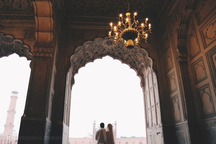 Zain And Ramsha: nikkah at Badshahi Mosque